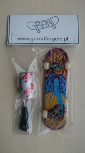 Fingerboard TechDeck 007 - GF pack