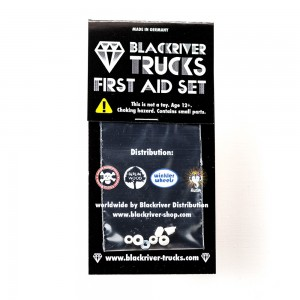"First Aid Set ""bushings"" classic white"