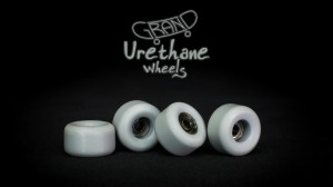 Grand Fingers Urethane bearing wheels - gray