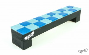 GF Bench – Mosaics – blue mix/black